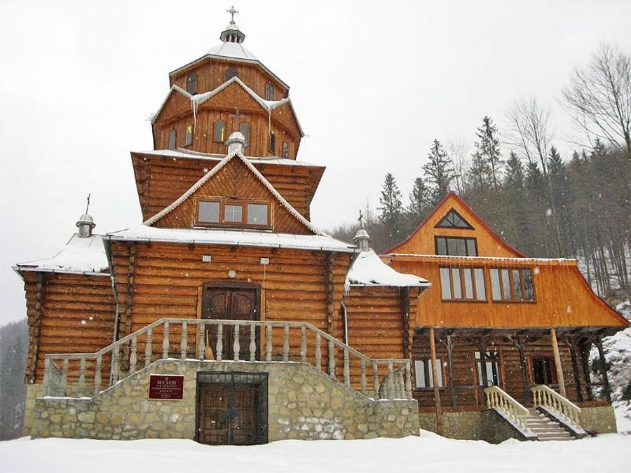 Музей имени Митрополита Андрея Шептицкого, Яремче (фото взято с romantikspahotels.ua)