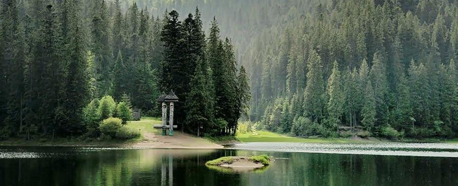 Відпочинок в Закарпатті - озеро Синевир